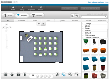 steelcase store and turnstone s 3d office design app helps fms