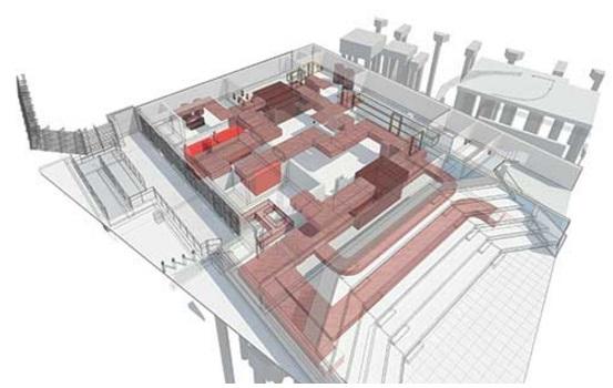 3D virtual building