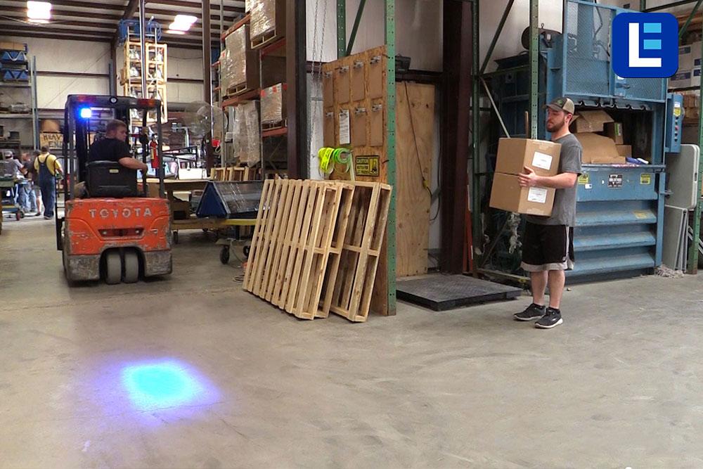 Larson Electronics Releases Blue Forklift Led Warning