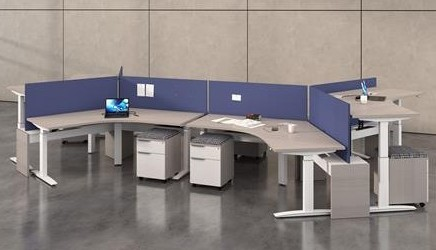 DeskMakers Hover Benching