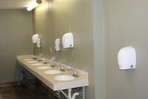Fairplex restroom sinks