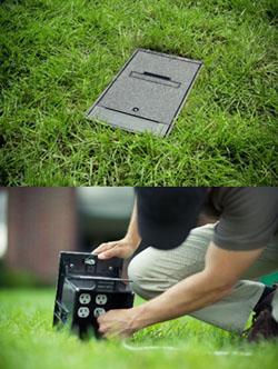 Outdoor Power Ground Box