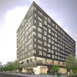 Rendering of The Study Hotel at Drexel
