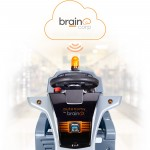 Autonomy by Brain Corp. integrated into floor scrubber