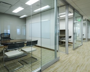 Writable surfaces in offices and meeting rooms make the most of the space and encourage collaboration.