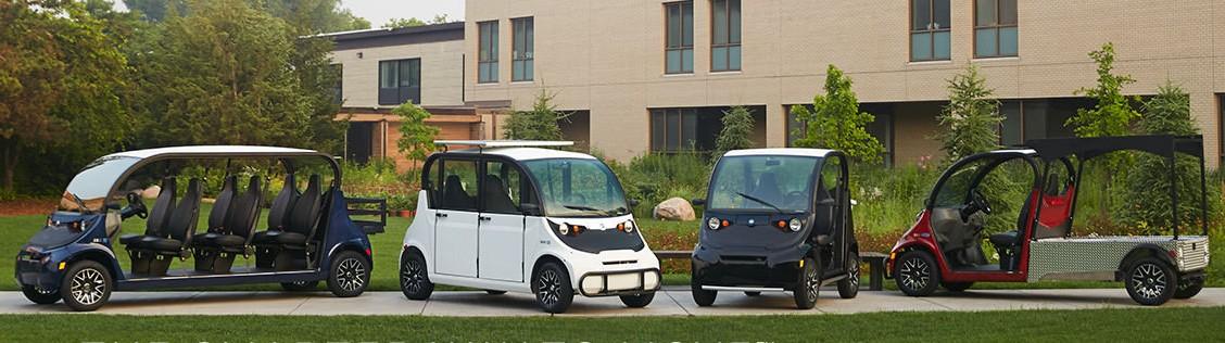 Polaris GEM vehicle options