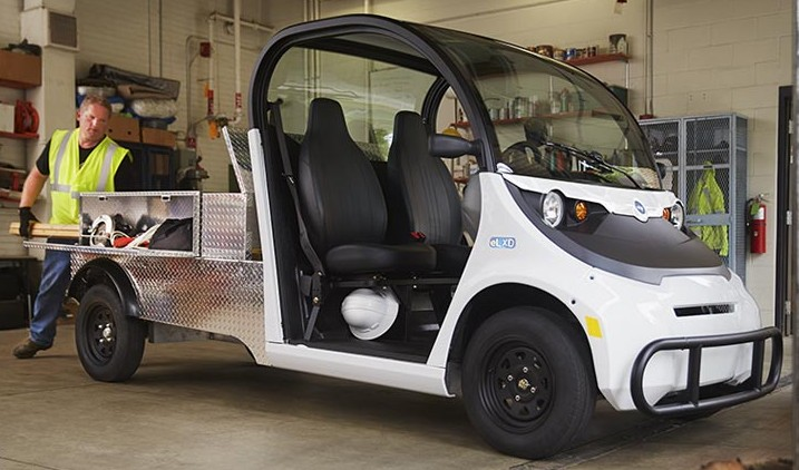 Polaris GEM electric vehicle