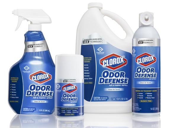 Clorox Odor Defense products