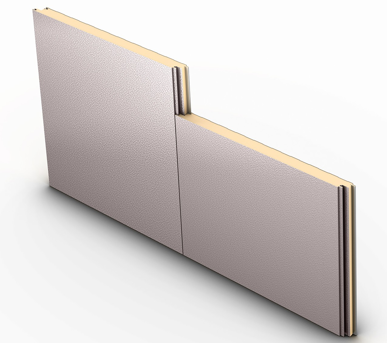 Impression insulated wall panel