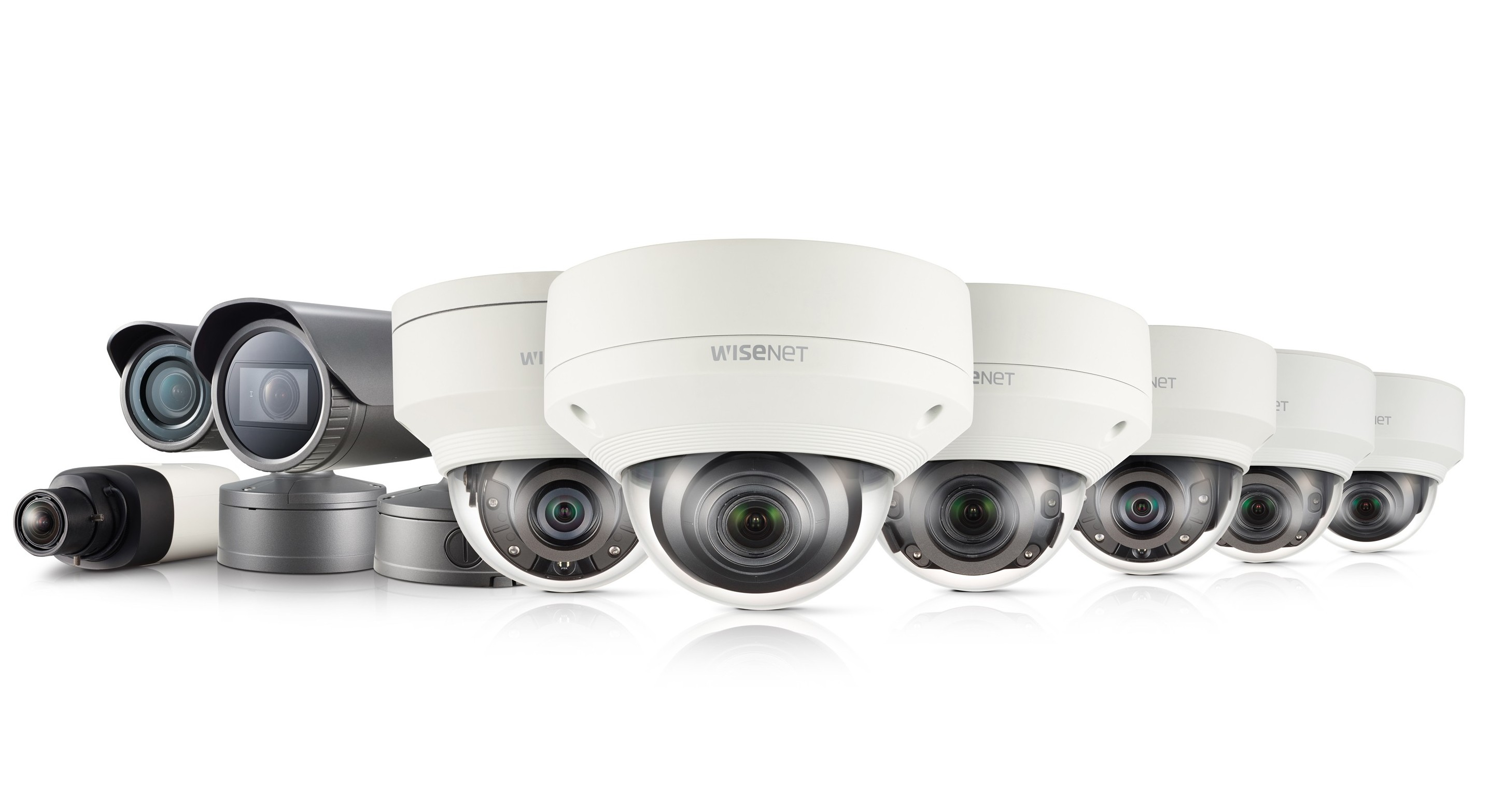 Wisenet X security cameras