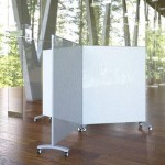 Clustered Clarus glass whiteboards