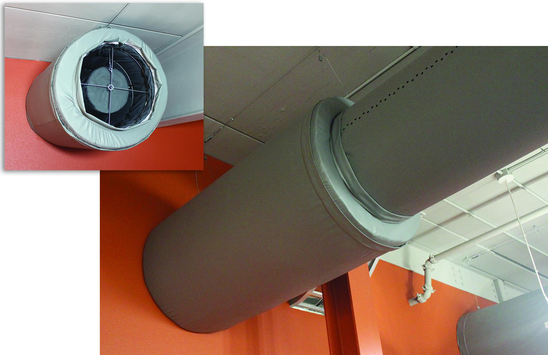 dBSilencer fabric sound attenuator