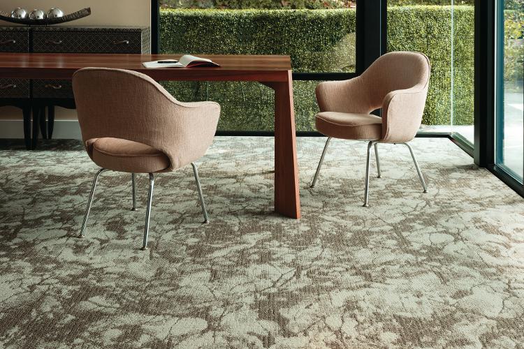 Canopy carpet shows senior living design trends