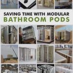 Modular bathroom pods guide cover