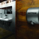 XLERATOR hand dryer in Brooklyn Bowl restroom