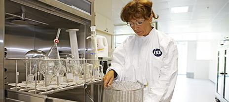 ISS facility services provider at a Shire facility