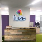 Fuze sign, interior of new HQ
