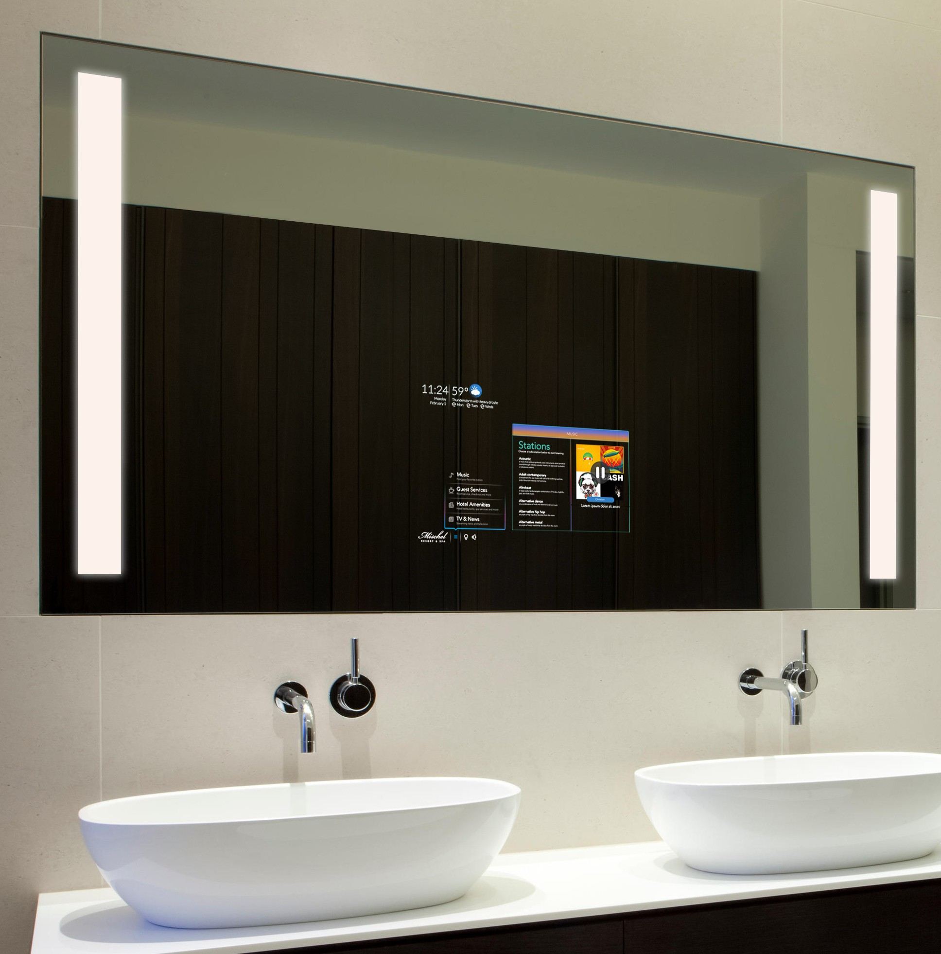 Smart bathroom mirror 28 images android smart bathroom for Smart bathroom designs