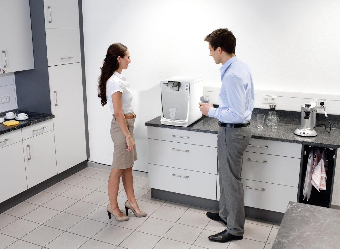 Kärcher water dispenser in kitchen