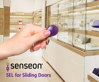 Senseon 5eL electronic locking system