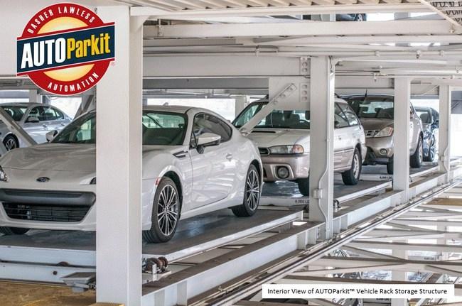 AUTOParkit vehicle rack storage structure