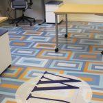 ChromaLuxe customizable durable flooring panels