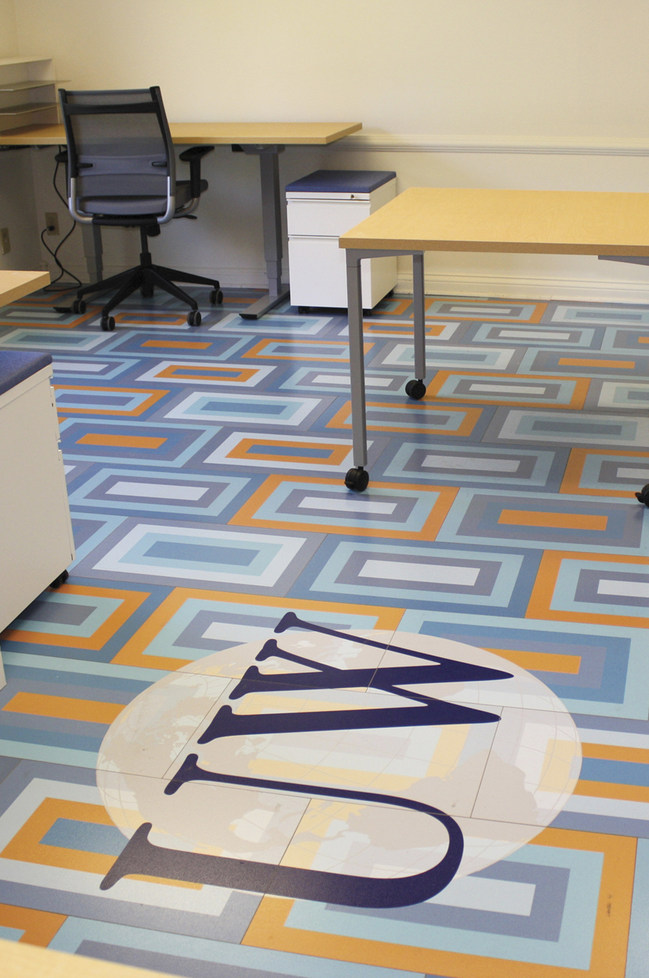 ChromaLuxe customizable durable flooring panels