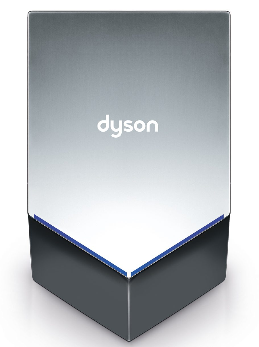Dyson Airblade V dryer - sprayed nickel