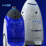 K3 and K5 Knightscope security robots