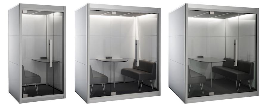 SnapCab's freestanding pod