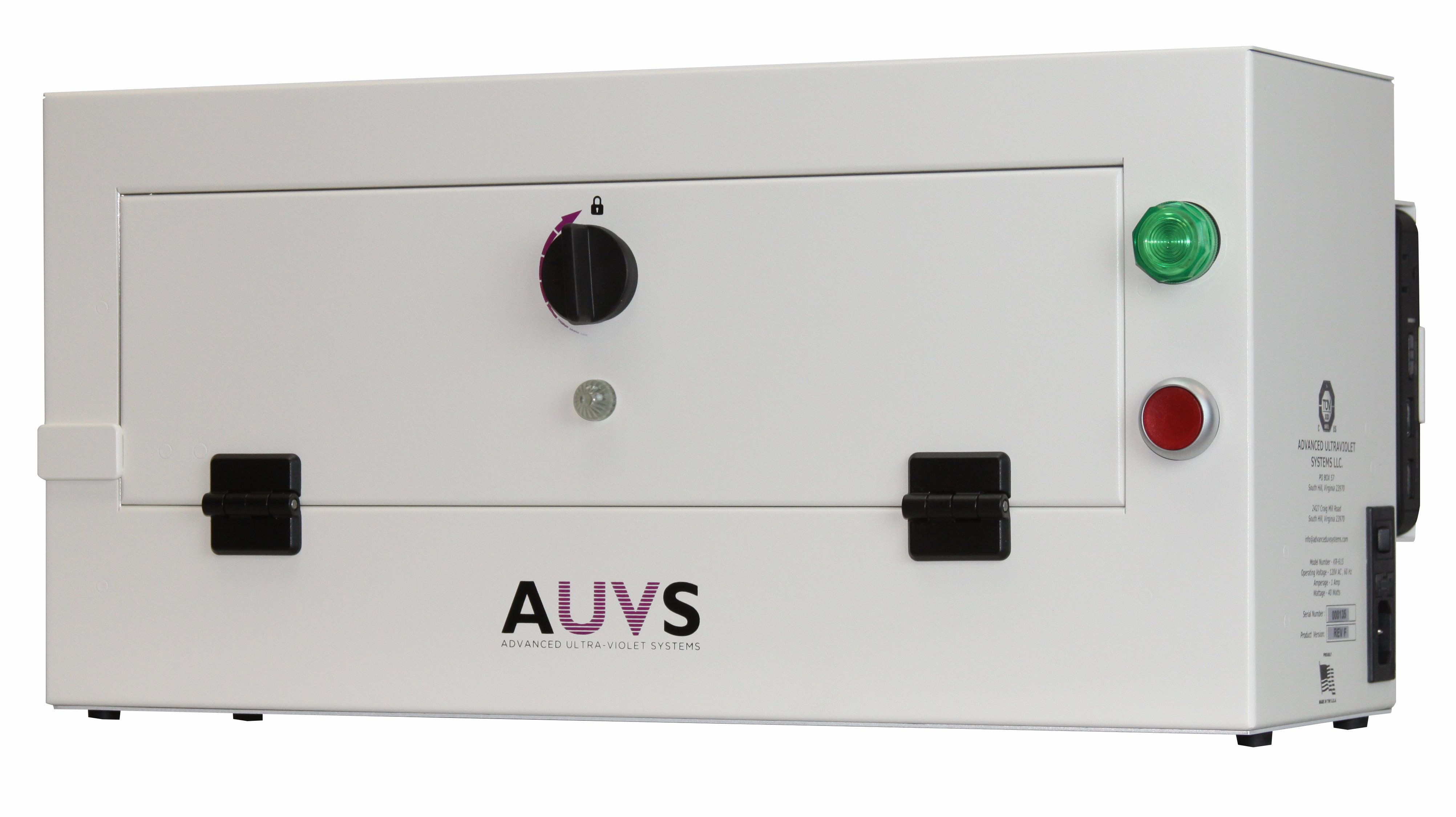 UV disinfection device