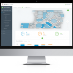 Screenshot of Atrius Spaces IoT platform