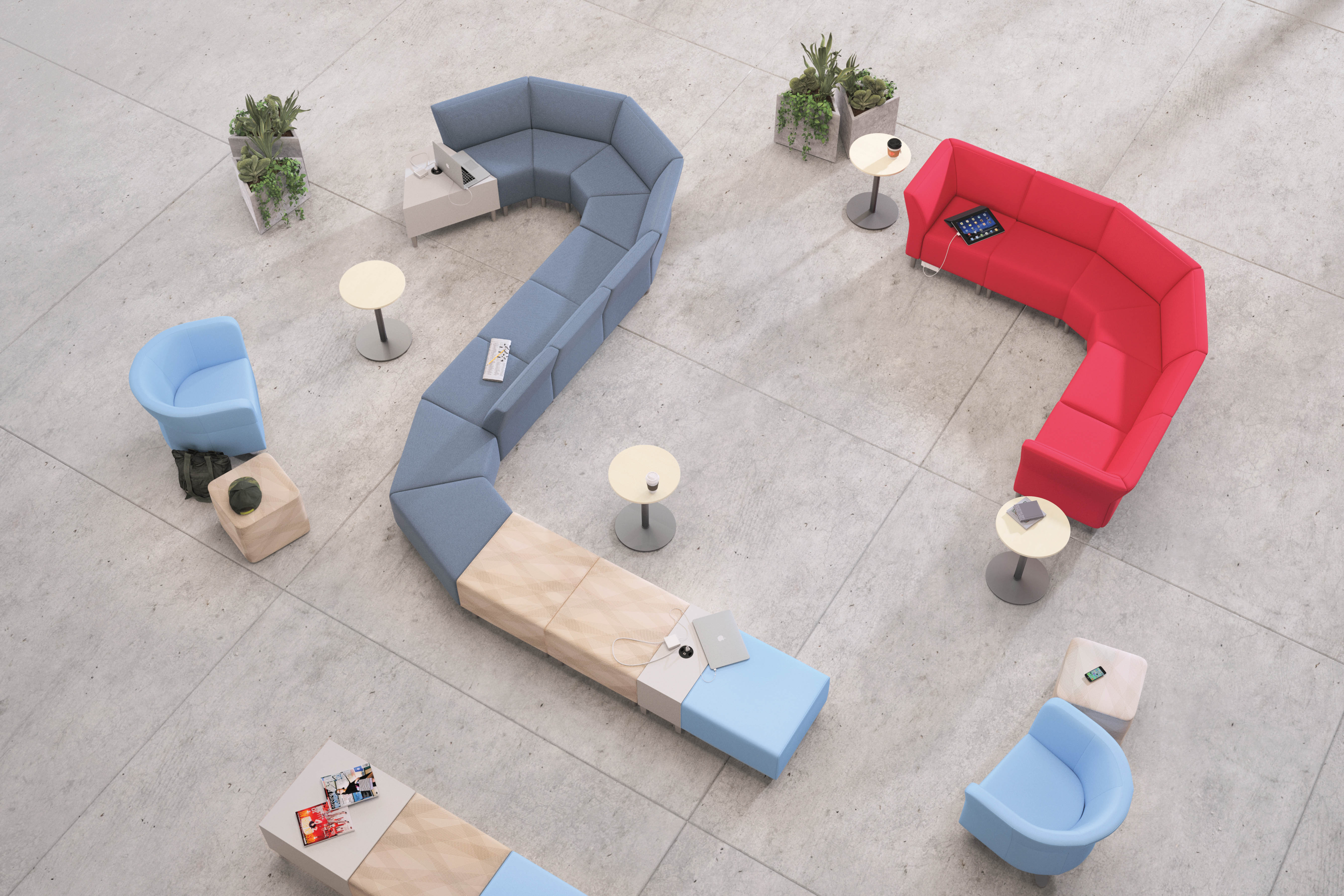 Flock collaborative furniture collection
