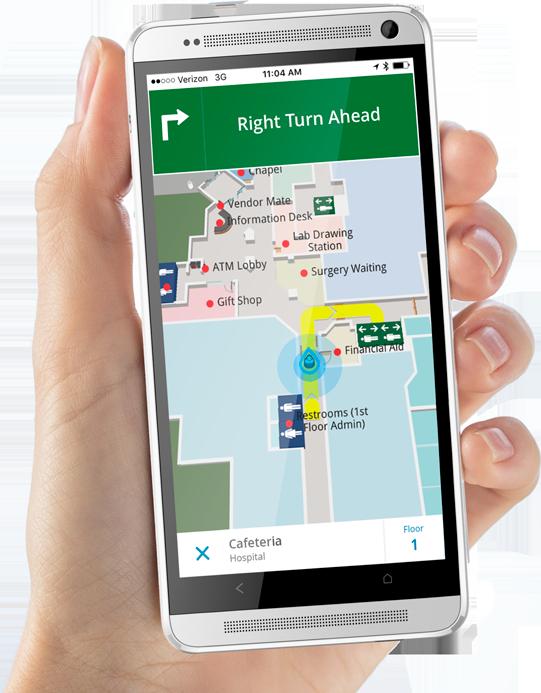 UHealth uses system-wide Gozio Health mobile wayfinding app
