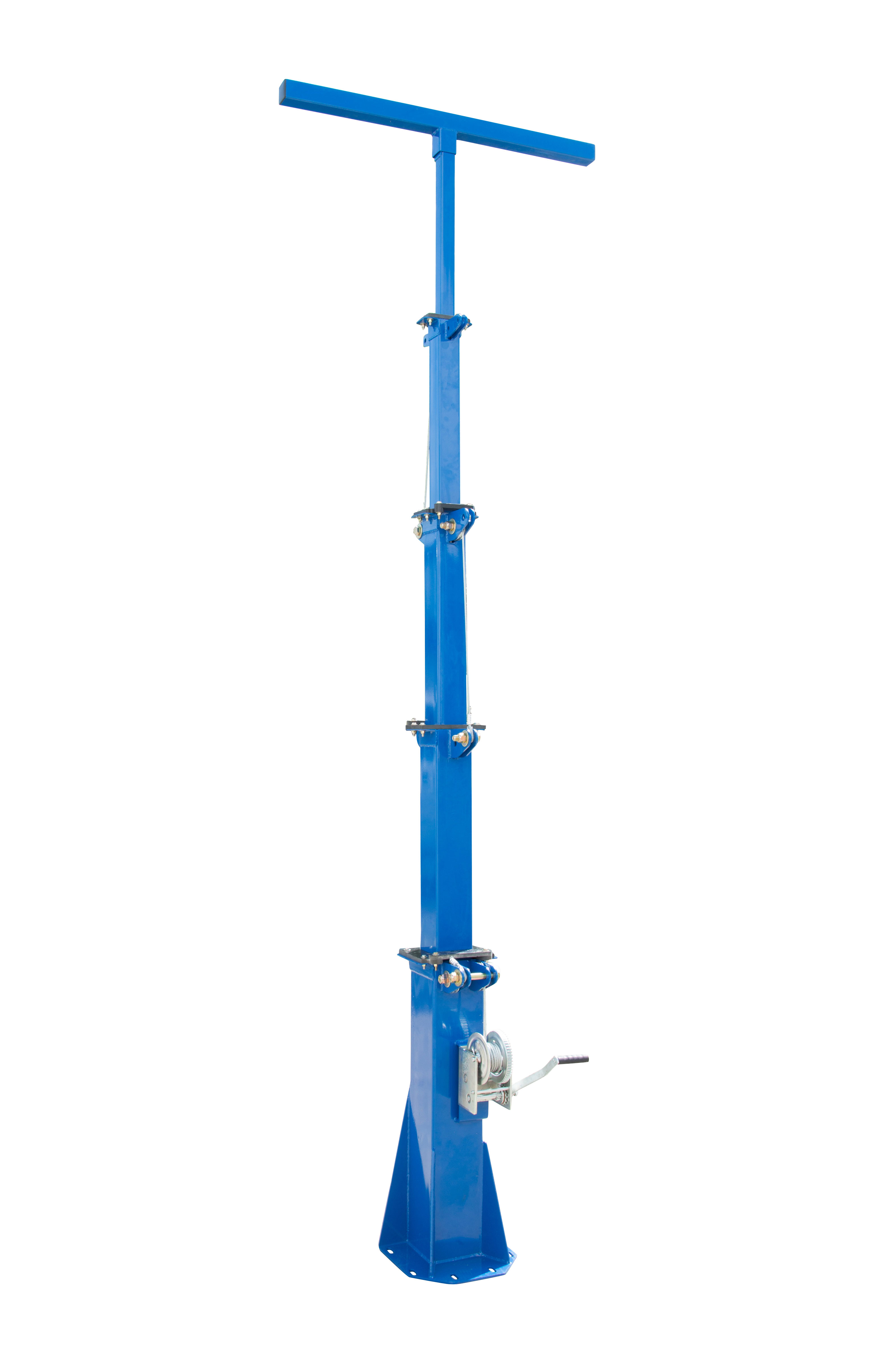 18' fixed-mount collapsible light mast