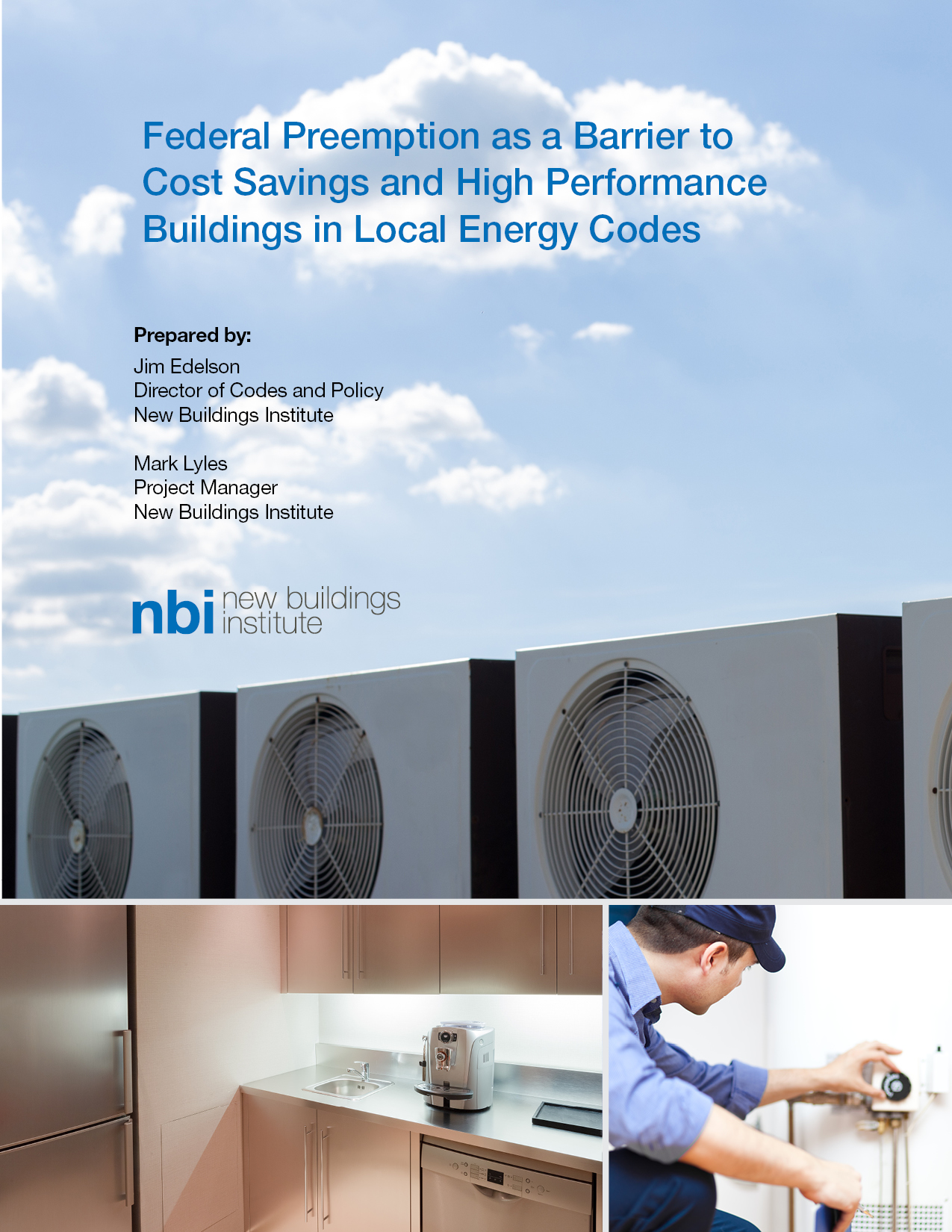 NBI federal preemption and energy codes report cover