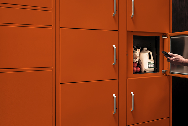 Smiota PoD refrigerated lockers