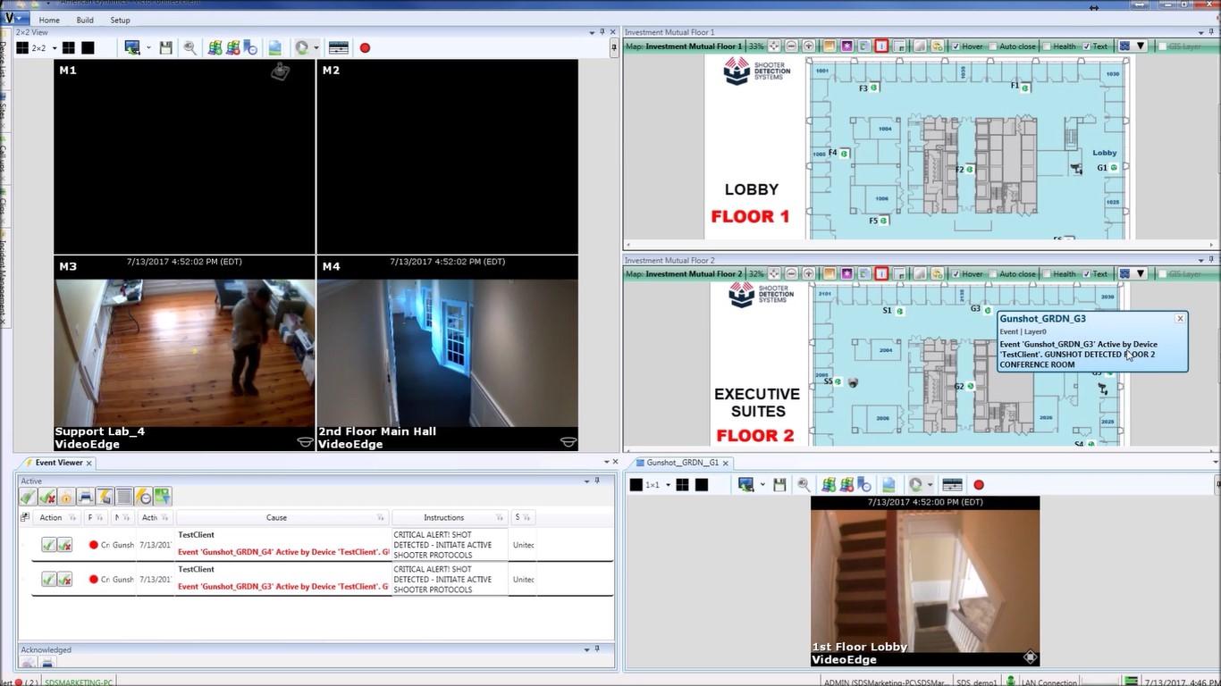 active shooter software screenshot