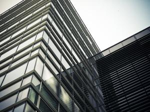 Windows on a high-rise