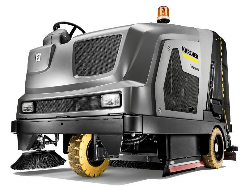 B 300 RI LPG ride-on scrubber/sweeper