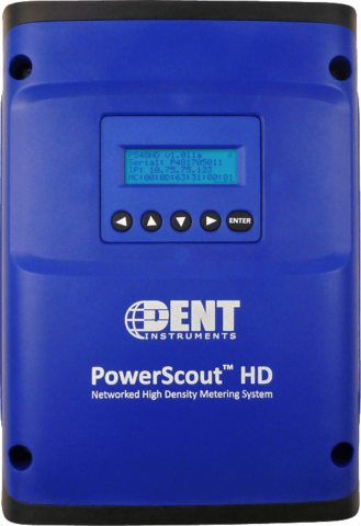 Blue PowerScout HD meter