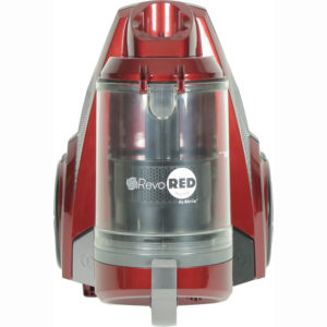 Revo Red Bagless HEPA Canister Vacuum