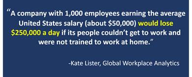 Figure 3: Global Workplace Analytics