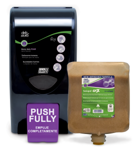 Heavy-duty hand cleanser dispenser