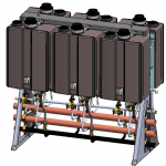 Freestanding Tankless Rack System