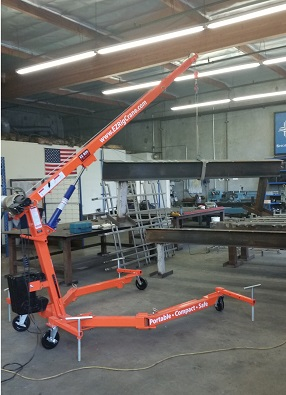 Portable EZ Rig Crane