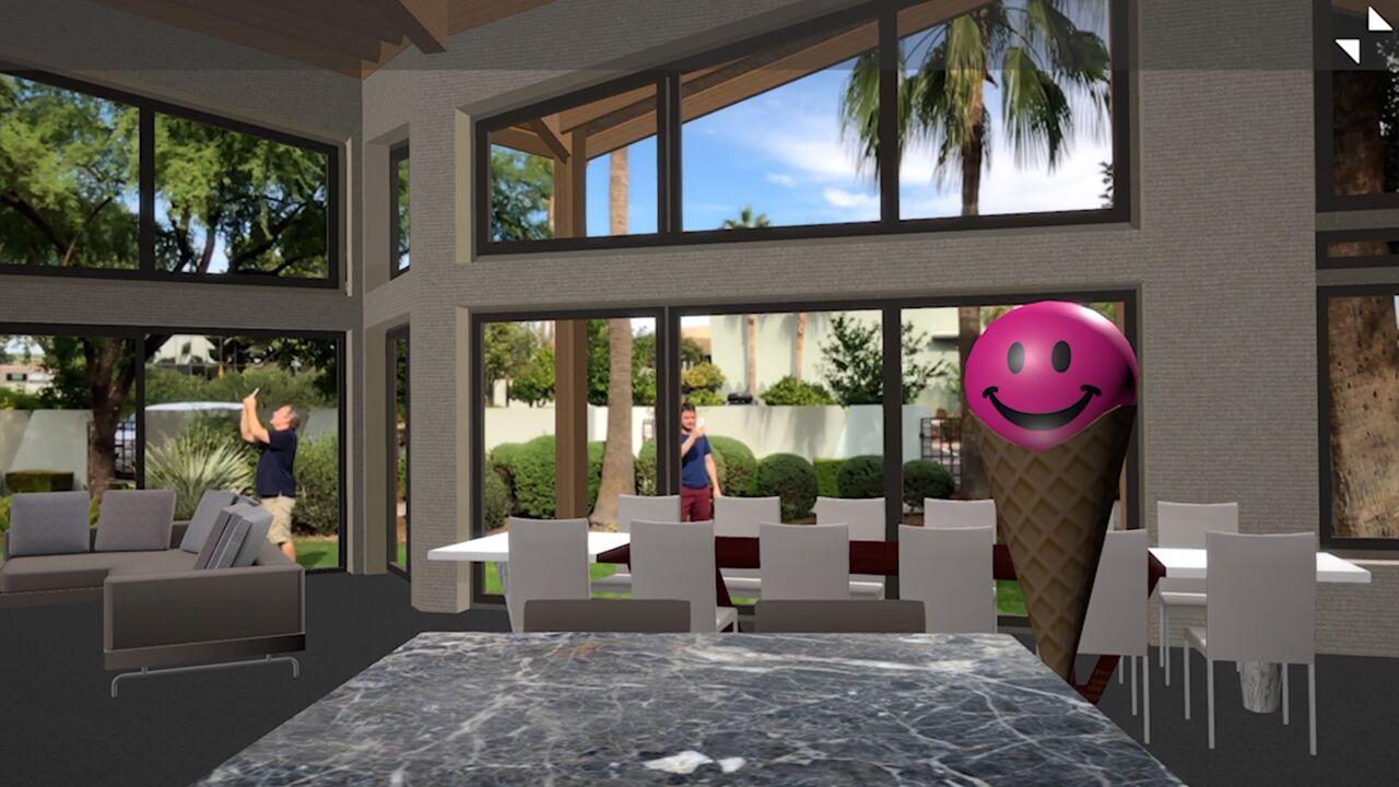 ICEreality App virtual reality image