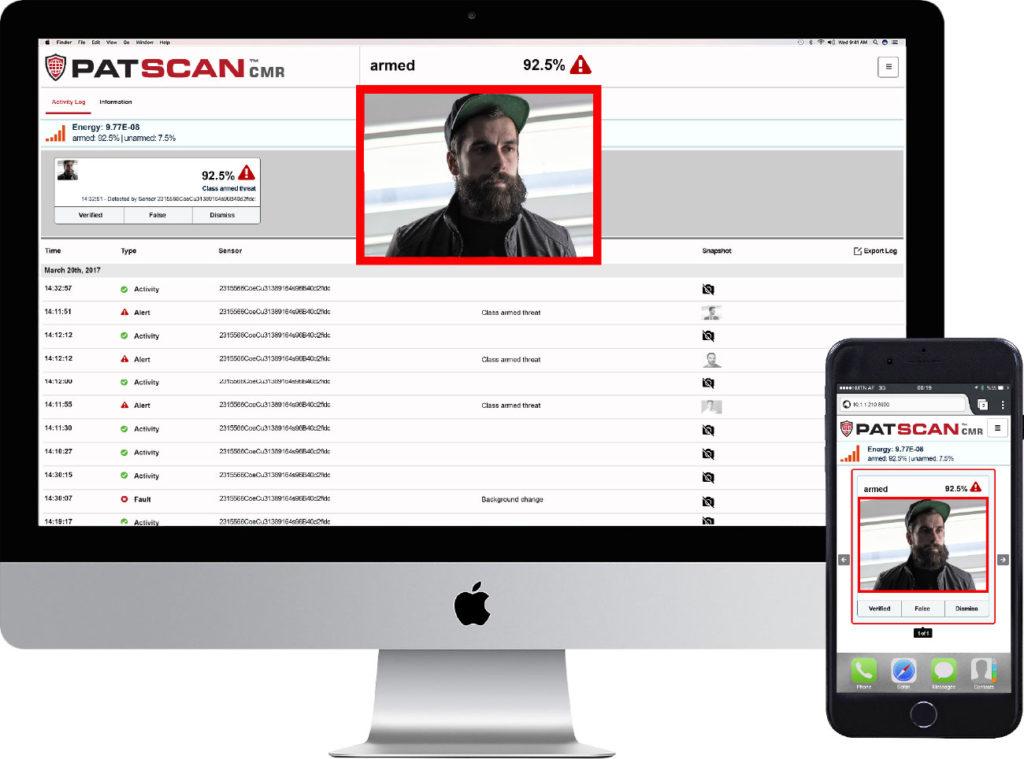 PATSCAN CMR screenshot