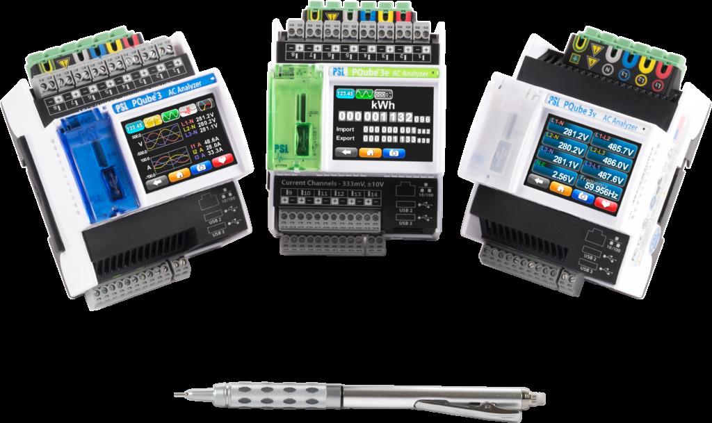PQube power quality analyzers