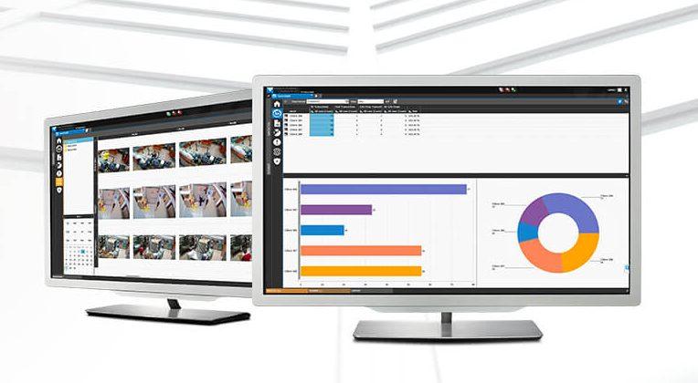 Video and data screenshots
